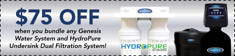 Coupon $75 off Genesis Water Systems