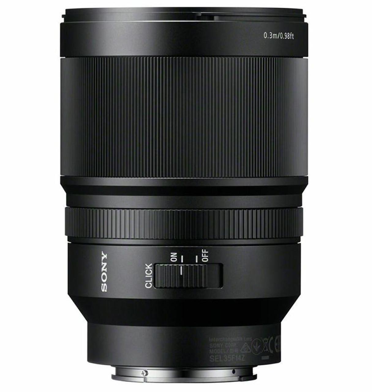 Sony Carl Zeiss Distagon T* FE 35mm F/1.4 ZA Full Frame E-mount NEX ...