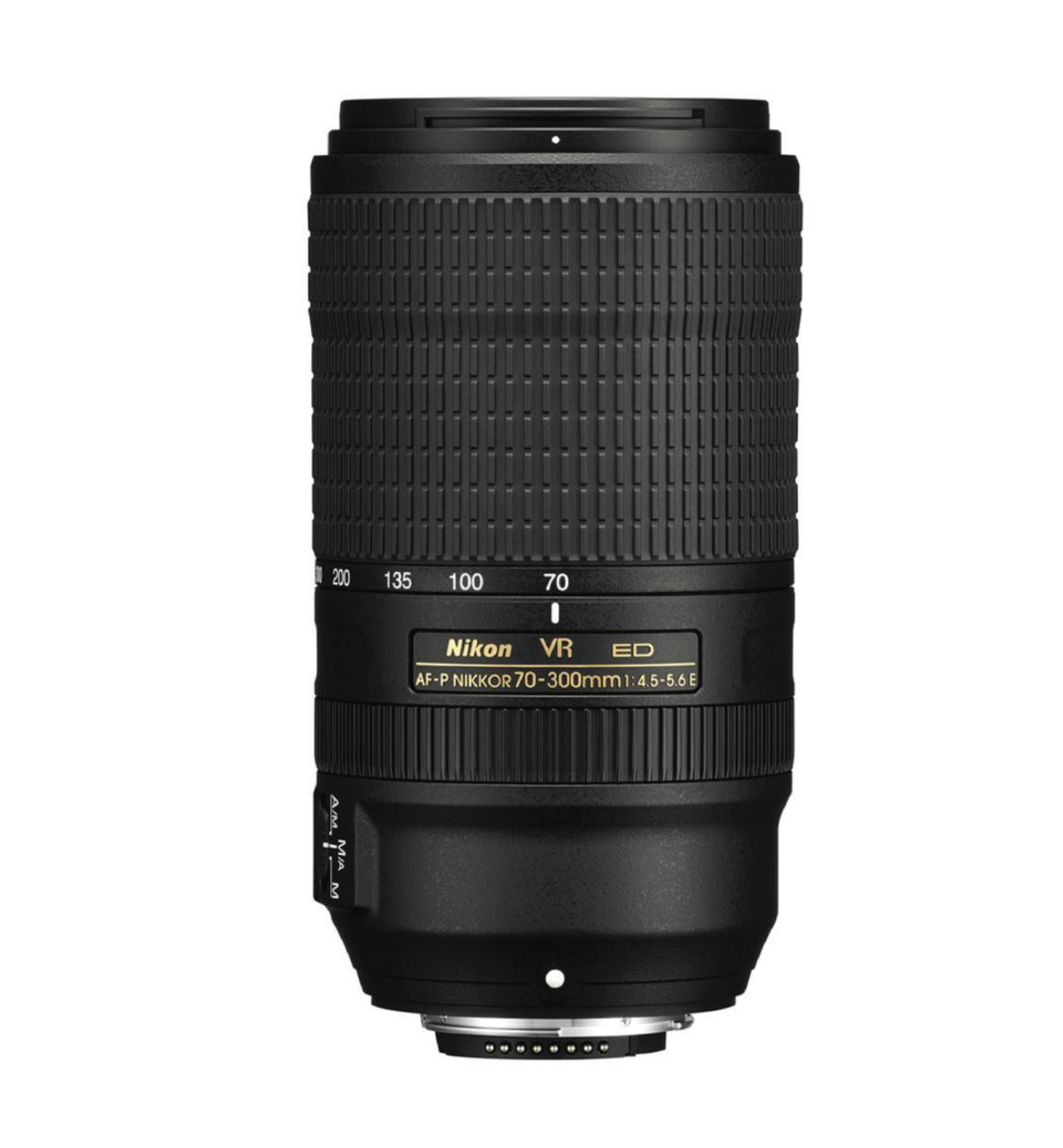 Nikon AF P 70 300mm F 45 56E ED VR Lens