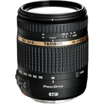 Tamron 18-270mm F/3.5-6.3 DI-II VC PZD Piezo Drive Ultrasonic Motor Aspherical (IF) AF Zoom, for Nikon AF Digital SLRs with APS-C Sensors, USA