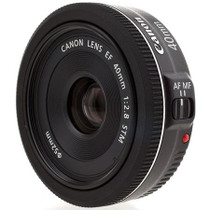 Canon EF 40mm f/2.8 STM Pancake Lens - USA Warranty