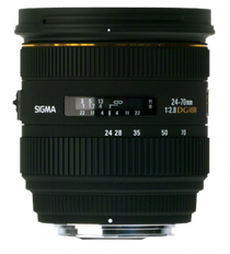 Sigma 24-70mm f/2.8 EX Aspherical IF EX DG HSM AutoFocus Zoom Lens for Maxxum & Sony Alpha Mount - US Warranty