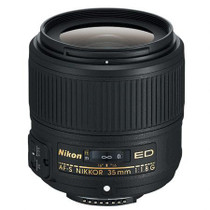 Nikon 35mm f/1.8G AF-S ED Nikkor Lens for DSLR Cameras - U.S.A. Warranty