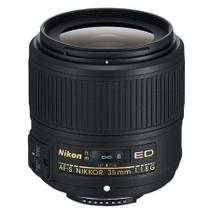 Nikon 35mm f/1.8G AF-S ED Nikkor Lens for DSLR Cameras - U.S.A. Warranty