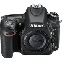 Nikon D750 DSLR Camera + Battery Grip (Body) + Two 64GB SD Cards + Extra Battery