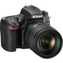 Nikon D750 DSLR Camera with 24-120mm Lens + Battery Grip + Two 64GB SD Cards + Extra Battery