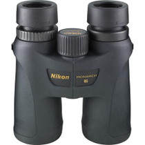 Nikon 8x42 Monarch 7 All Terrain Water Proof Roof Prism Binocular with 8 deg. Angle of View, Black, U.S.A.