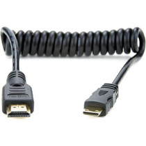 "Atomos Full to Mini HDMI Coiled Cable (11.8-17.7"")"