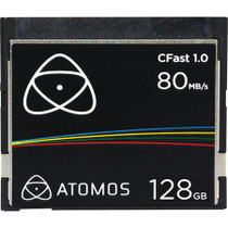 Atomos C-Fast 1.0 128GB Media Card for Ninja Star ProRes Recorder, 200MB/s Read and 80MB/s Write Speed