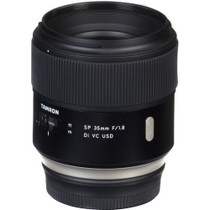 Tamron SP 35mm F/1.8 Di VC USD for Nikon Full Frame Digital SLR Cameras - U.S.A. Warranty