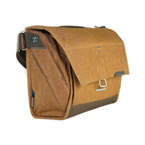 Peak Design The Everyday Messenger Shoulder Bag for DSLR, 3 Lenses, & Accessories, Heritage Tan