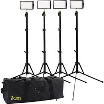 ikan IDK4312-V2 Bi-Color 4-Light Interview Kit