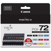 Canon LUCIA PGI-72 10-Color Ink Tank Value Pack