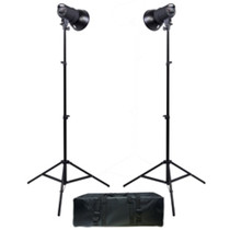 Promaster SM180 Manual Control 2-Light Studio Kit