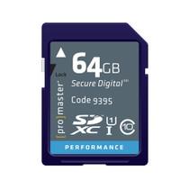 Promaster SDXC 64GB 266x Performance Memory Card