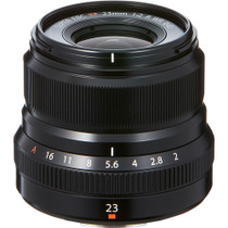 Fuji XF 23mm F/2R WR Black