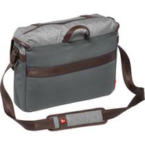 Manfrotto Windsor Camera Messenger Bag (Medium, Gray)