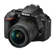 Nikon D5600 DX-format Digital SLR Body with AF-P DX NIKKOR 18-55mm f/3.5-5.6G VR Lens