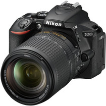 Nikon D5600 DX-format Digital SLR Body with AF-S DX NIKKOR 18-140mm f/3.5-5.6G ED VR Lens