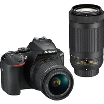 Nikon D5600 Camera with 18-55mm & 70-300mm Lenses
