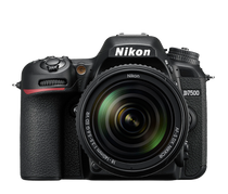 Nikon D7500 DX-format Digital SLR with 18-140mm VR Lens (Black)