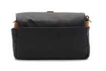 Ona Bowery Canvas Messenger Bag (Black)