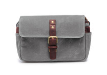Ona Bowery Canvas Messenger Bag (Smoke)