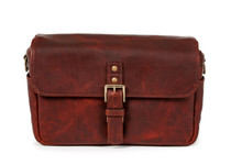Ona Bowery Leather Messenger Bag (Bordeaux)
