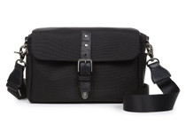 Ona Bowery Nylon Messenger Bag (Black)