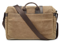 Ona Brixton Canvas Messenger Bag (Field Tan)