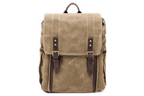 Ona Camps Bay Canvas Backpack (Field Tan)