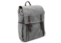 Ona Camps Bay Canvas Backpack (Smoke)