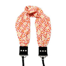 Capturing Couture Scarf Camera Strap - Geovanie Coral