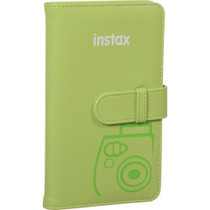 Fujifilm instax Wallet Album (Lime Green)