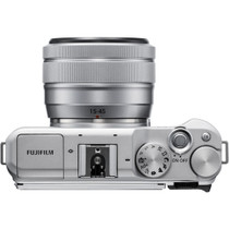 Fujifilm X-A5 Mirrorless Camera with XC 15-45mm OIS PZ Lens, Silver