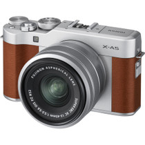 Fujifilm X-A5 Mirrorless Digital Camera with 15-45mm Lens (Brown)