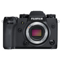 Fujifilm X-H1 Mirrorless Camera Body, Black