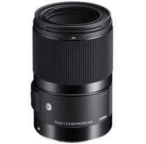 Sigma 70mm F2.8 DG Macro | Art Lens for Sony E-Mount