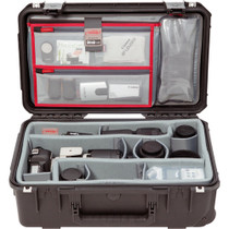 SKB iSeries 2011-7 Case with Think Tank-Designed Photo Dividers & Lid Organizer (Black)