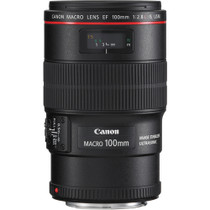 Canon EF 100mm f/2.8L IS USM Macro Auto Focus Lens