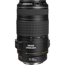 Canon EF 70-300mm f/4-5.6 IS USM Autofocus Telephoto Zoom Lens