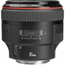 Canon EF 85mm f/1.2L II USM AutoFocus Telephoto Lens