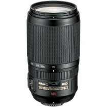 Nikon 70-300mm f/4.5 - 5.6G ED-IF AF-S VR (Vibration Reduction) Zoom Nikkor Lens