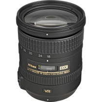 Nikon 18mm - 200mm f/3.5-5.6G ED IF AF-S DX VR II Wide Angle Telephoto Zoom-Nikkor Lens