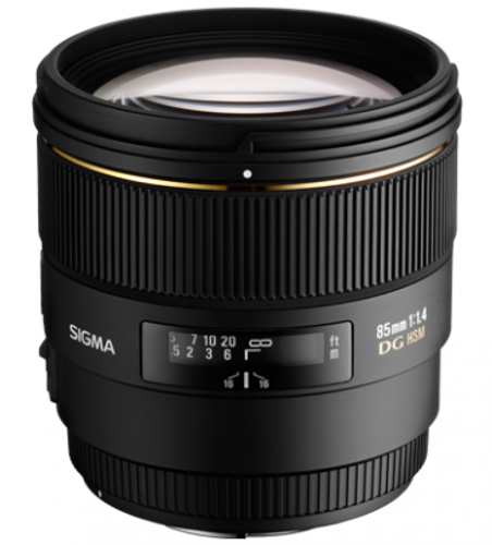 Sigma 85mm f/1.4 EX DG HSM Lens for Maxxum & Sony Alpha Mount - USA Warranty