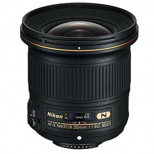Nikon 20mm f/1.8G AF-S ED Nikkor Lens - U.S.A. Warranty