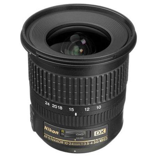Nikon AF-S DX NIKKOR 10-24mm F3.5-4.5G ED Lens - U.S.A. Warranty