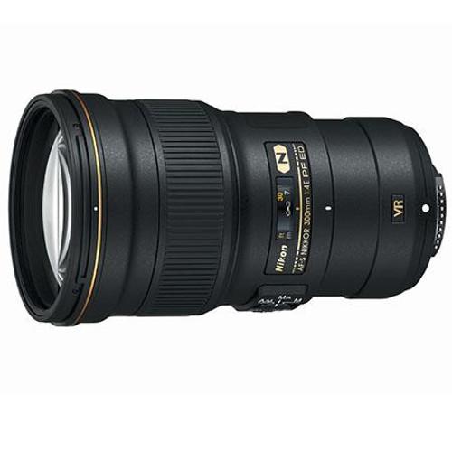Nikon 300mm f/4E PF (Phase Fresnel) ED VR AF-S Nikkor Lens - USA Warranty