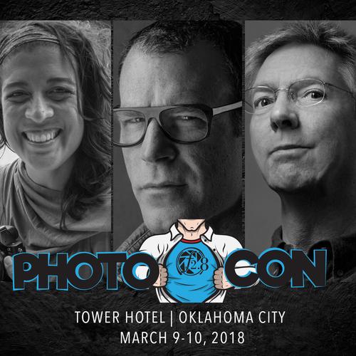 PhotoCon 2018   Oklahoma City   March 9-10, 2018