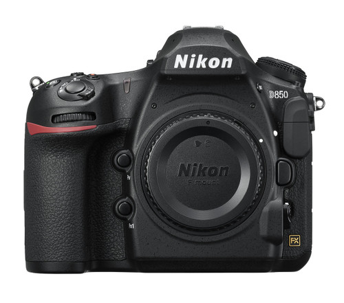 Nikon D850 FX-format Digital SLR Body (Black)